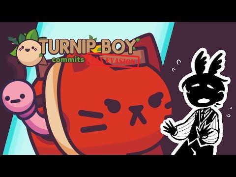 Okay, Something Is DEFINATELY Wrong! | Turnip Boy Commits Tax Evasion [4] |
