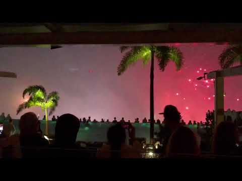 NYE at Marina Bay Sands Singapore Fireworks Display 2018