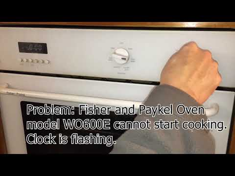 Fisher & Paykel Oven WO600E Not Working FIX