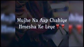 Best Love & Romantic Heart Touching Shayari Sms In Hindi Video