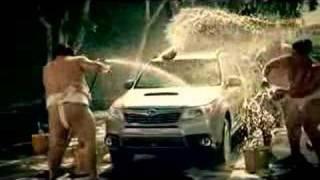 Sexy Subaru Forester Sumo Carwash