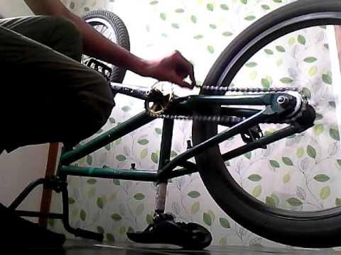 Натягиваем цепь на велосипеде