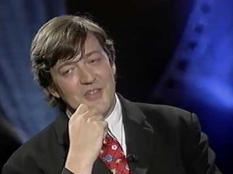 Stephen Fry interview (Wilde - FIlm '97, 1997)