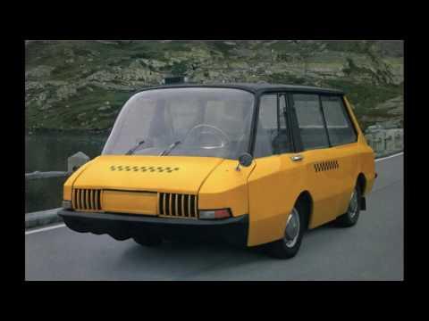 Экспериментальное советское такси: ВНИИТЭ-ПТ