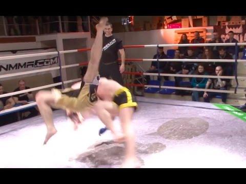 Барсук загрыз Васяна в ринге