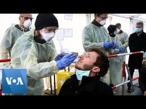 Germany Coronavirus Testing Nose Swabs