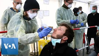 Germany Coronavirus Testing Nose Swabs
