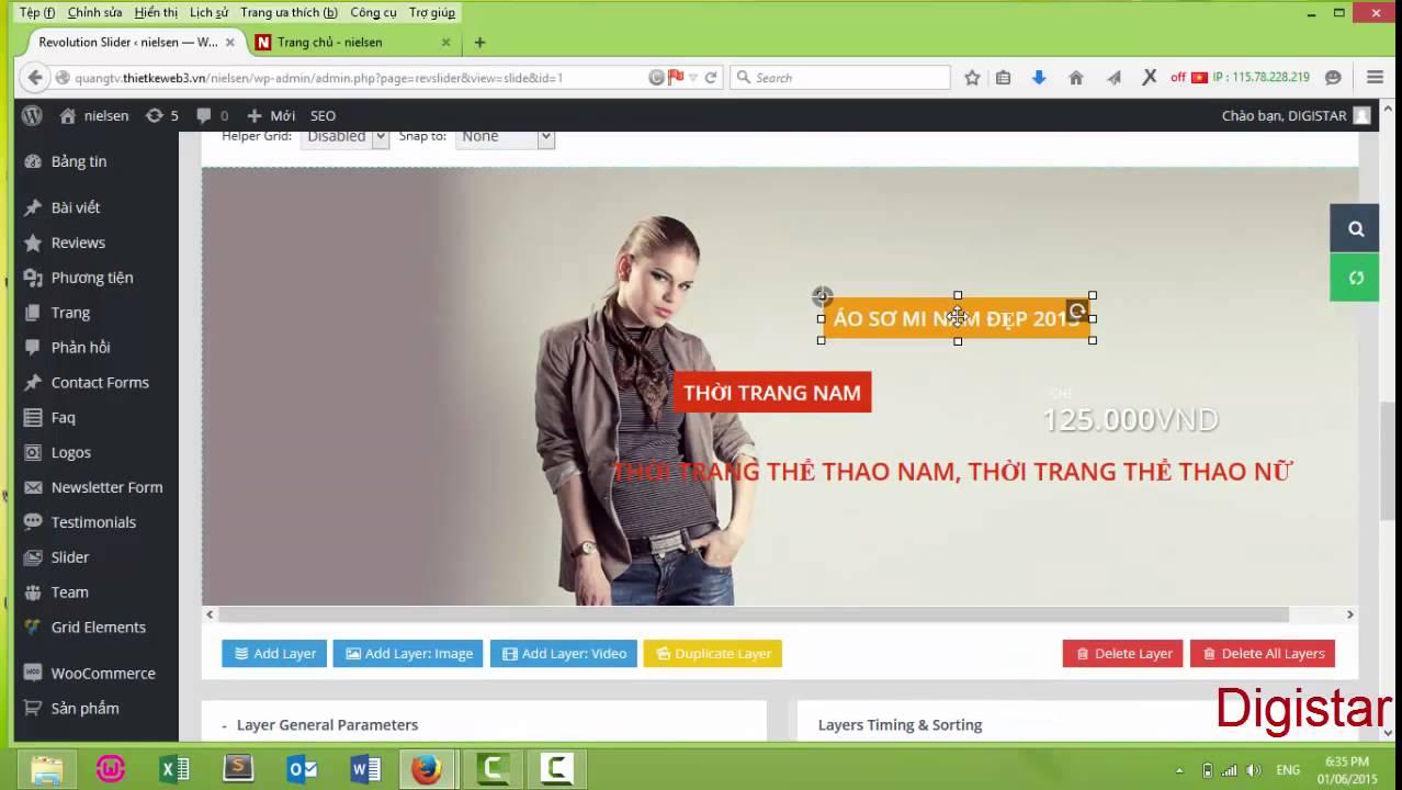 [Hướng Dẫn] Chỉnh sửa và làm việc với Banner – Slider trong WordPress (Phần 3)