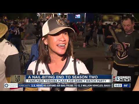 Fans react to VGK Game 7 loss