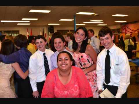Bobby Madar 8th grade Graduation from Madison Middle School Trumbull CT. June 2012