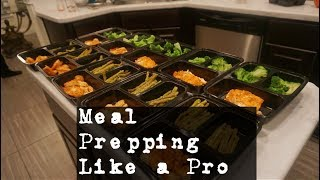 Chicken and Seafood Meal Prep |  Basic Prep Tutorial
