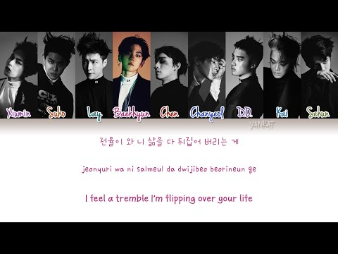 EXO - Monster (Color Coded Han|Rom|Eng Lyrics) | by Yankat
