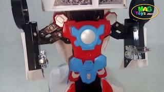 MOBIL POLISI JADI ROBOT  ROBOT POLICE CAR | THE POLICE CAR IS ROBOT POLICE CAR ROBOT