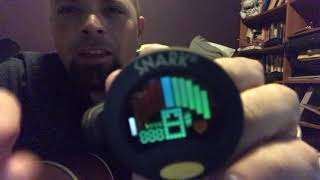 Snark SN-8 clip on guitar tuner review