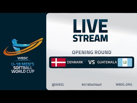 Denmark v Guatemala - U-18 Men's Softball World Cup 2020 - Opening Round