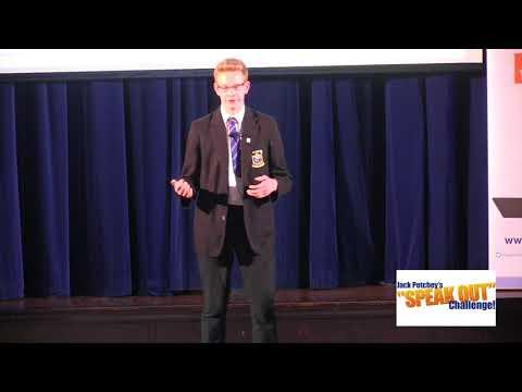 "Jamie Baker, Third, Jack Petchey's ""Speak Out"" Challenge! East Essex Regional Final 2017-18"