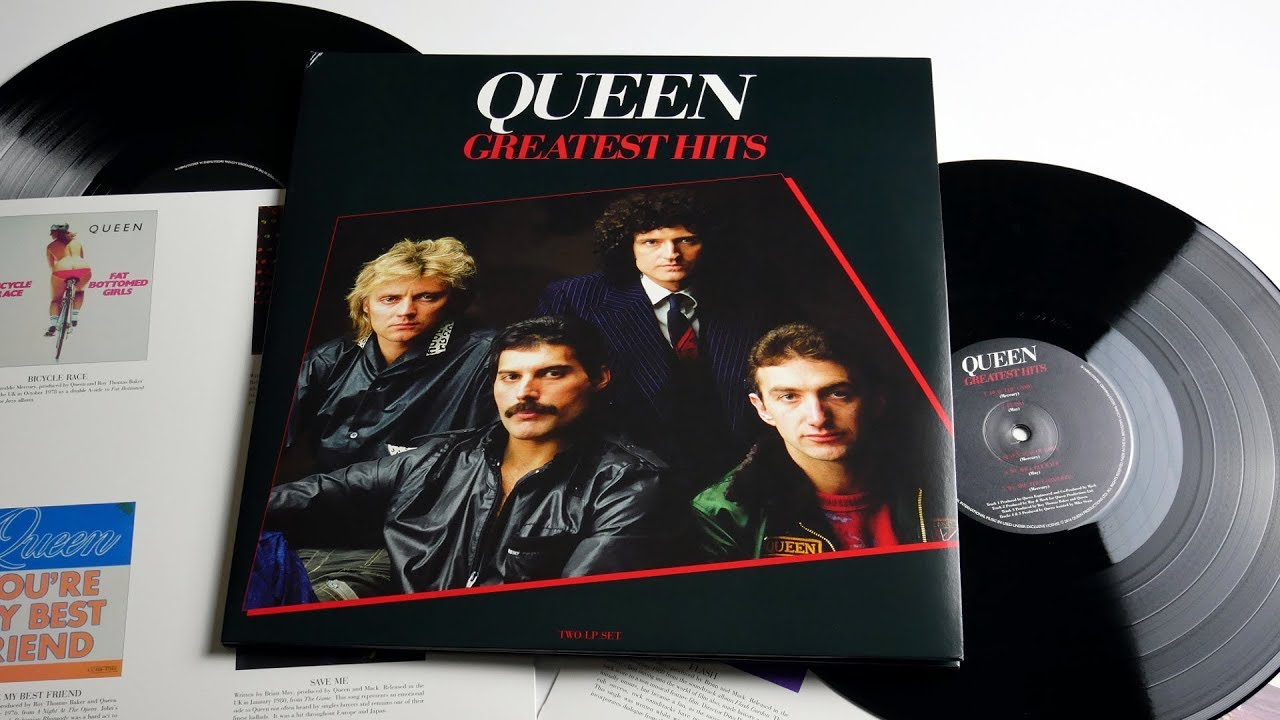 Queen ‎- Greatest Hits - Vinyl Unboxing - YouTube