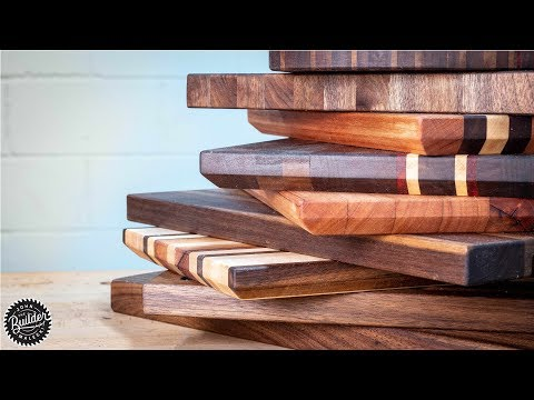 10 Cutting Boards from Scrap Wood Build