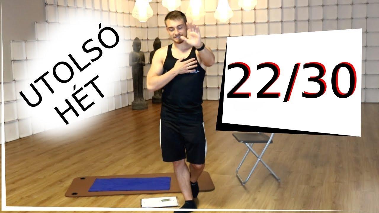 bodyrock 30 napos zsírégető kihívás