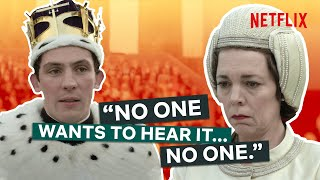 The Queen Tells Off Charles  The Crown