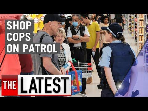 Coronavirus: Police Called In To Patrol Supermarket Aisles | 7NEWS