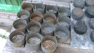 топливо угольное с глиной.Брикетирование угля в домашних условиях