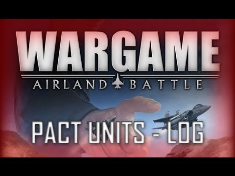 Wargame: Airland Battle Tutorial #5 PACT Units - Logistics