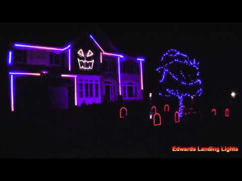 Halloween Light Show 2015 - Uma Thurman by Fall Out Boy