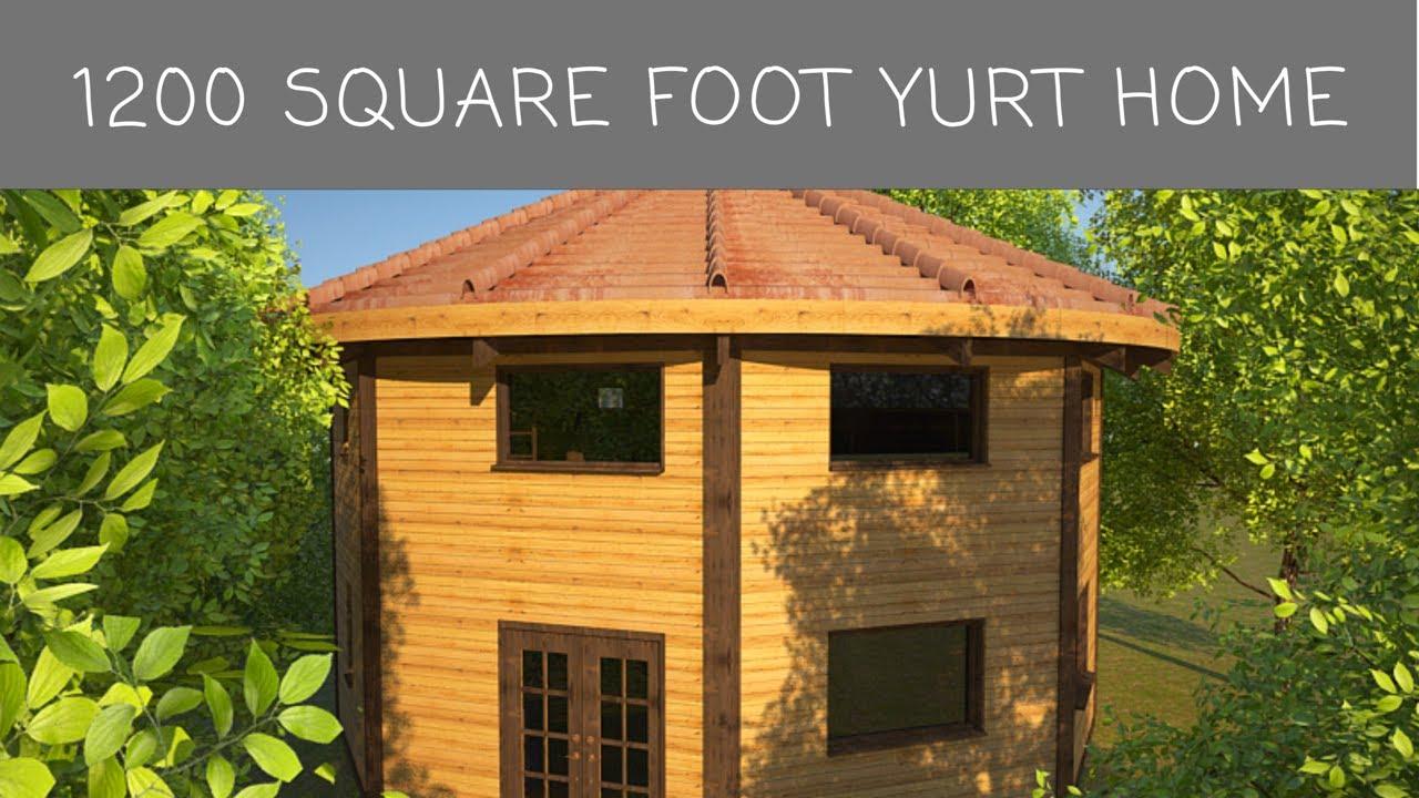 Dreamcatcher Yurt Home Interior Rendering Youtube