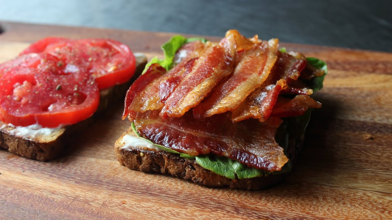 Baking Bacon For Perfect Blts How To Bake Bacon For Bacon Lettuce Tomato Sandwiches