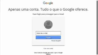 Como entrar no email do GMAIL