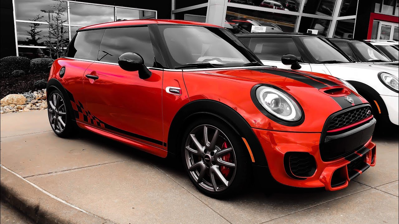 International Orange Edition 2019 Mini John Cooper Works Youtube