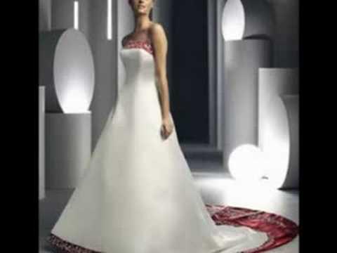 Brautkleider DAVINCI aus den USA - YouTube