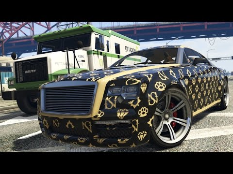 dlc nouvelle enus windsor voiture de luxe gta 5 online youtube. Black Bedroom Furniture Sets. Home Design Ideas