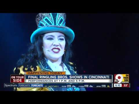Your Last Chance To See Ringling Bros Circus In Cincinnati