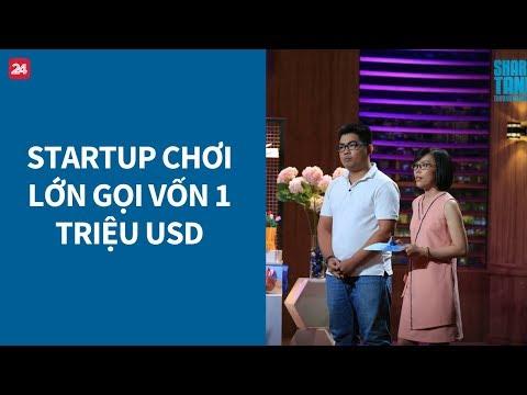 """Shark Tank Việt Nam tập 1: Startup """"chơi lớn"""" gọi vốn 1 triệu USD"""