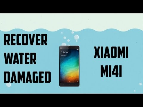 Recovering water damaged xiaomi  mi phones
