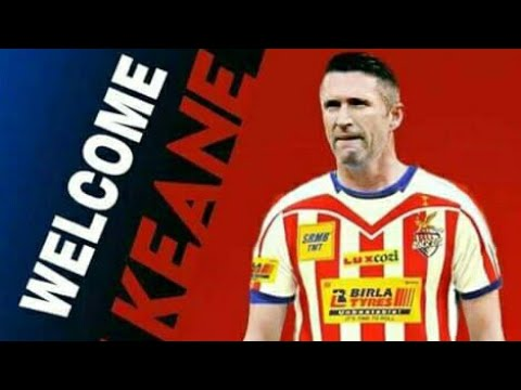 Isl 2017⚫Atlético de kolkata(Atk) new singing Robbie Keane⚫Best goals and skills of Robbie Keane