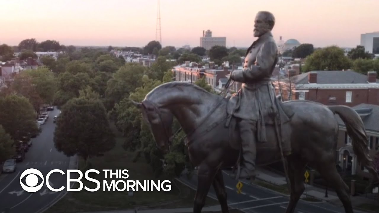 Virginia governor announces plans to take down Robert E. Lee Confederate statue in Richmond