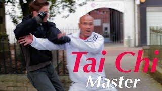 Tai Chi Chuan Master using taiji combat - Lesson 3 body hit