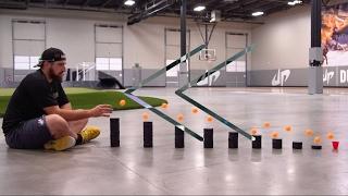 Reverse - DudePerfect - Ping Pong Trick Shots 3