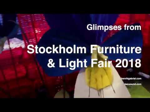 Glimpses of Stockholm Furniture & Light Fair 2018