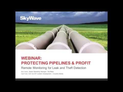 Pipeline Monitoring For Remote Theft & Leak Detection: Webinar Trailer