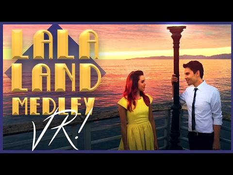 La La Land Medley in VR!! Sam Tsui & Megan Nicole | Sam Tsui