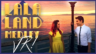 Download lagu La La Land Medley in VR Sam Tsui Megan Nicole Sam Tsui