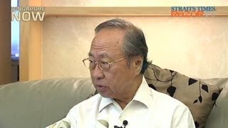 Cheng Bock: Division among Singaporeans and within PAP