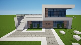 Download Minecraft Villa Bauen Videos Dcyoutube - Minecraft haus unter wasser bauen