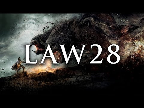 LAW 28 ENTER ACTION WITH BOLDNESS | 48 LAWS OF POWER VISUAL BOOK SUMMARY (ROBERT GREENE)