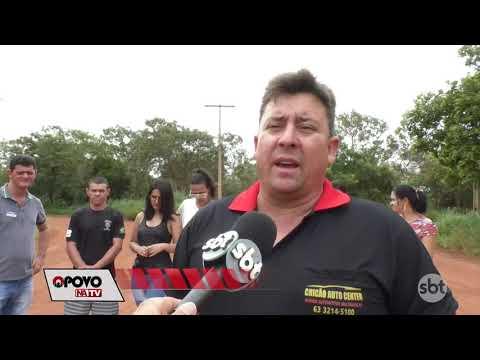 O Povo na TV: Moradores da 1007 sul cobram por asfalto na região