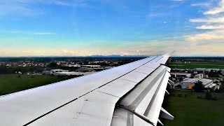Lufthansa Airbus A321 APPORACH and SMOOTH LANDING at Munich Airport | ✈
